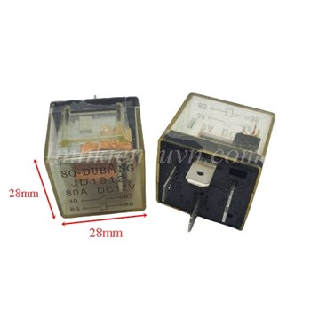 Relay SQ-Dubang JD1912 80A 12VDC - 8F17